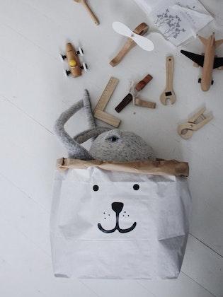 Tellkiddo papperspåse liten björn