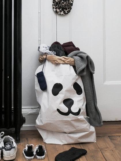 Tellkiddo papperspåse panda