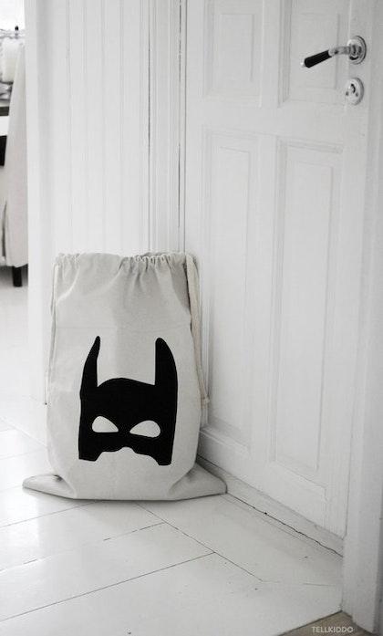 Tellkiddo förvaringspåse batman