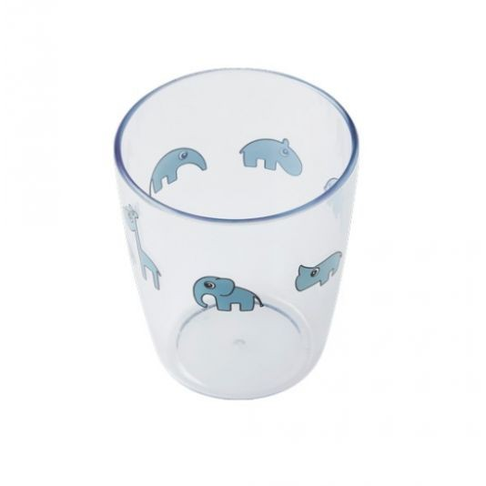 Done by Deer yummi mini glas blå