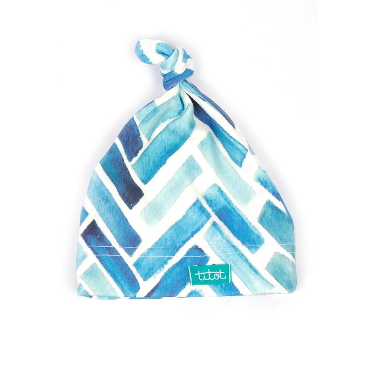 Newborn knutmössa blue fir organic