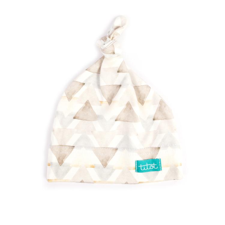 Newborn knutmössa sand triangles
