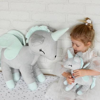 Kramdjur, grå enhörning XL