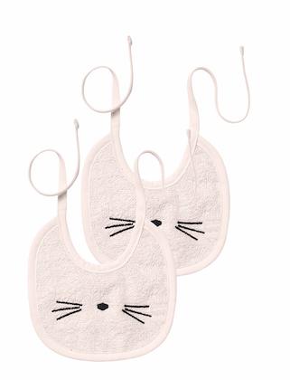 Liewood haklapp Lilja Cat Sweet Rose - 2 pack