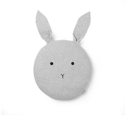 Liewood prydnadskudde Kaj rabbit dumbo grey