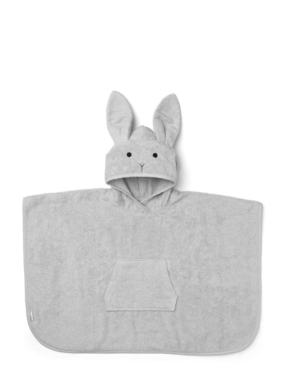 Liewood Orla badponcho Rabbit Dumbo Grey