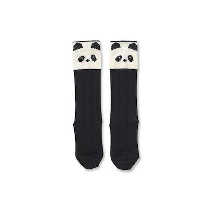 Liewood Knästrumpor Sofia , Panda Creme De La Creme