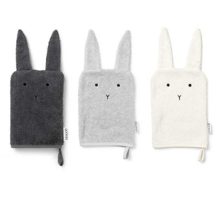 Liewood tvättlappar 3-pack Sylvester rabbit