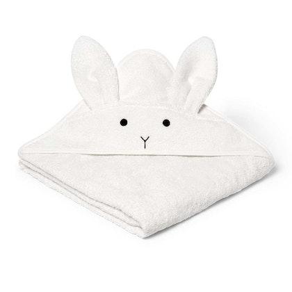 Liewood handuk med huva, Augusta Rabbit Creme De La Creme