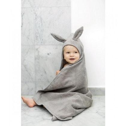 Badcape Marble Grey, Handduk med Huva, Elodie Details