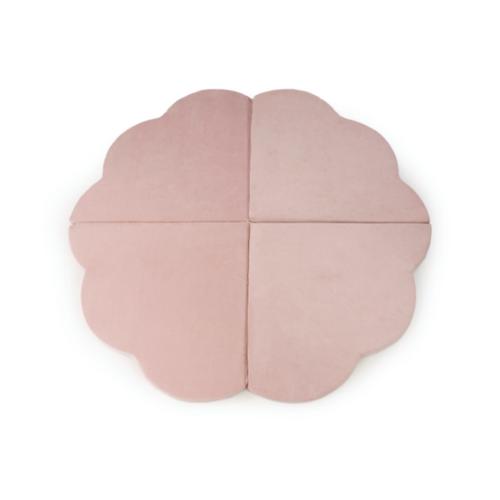Misioo, Stor och flexibel lekmatta , rosa blomma