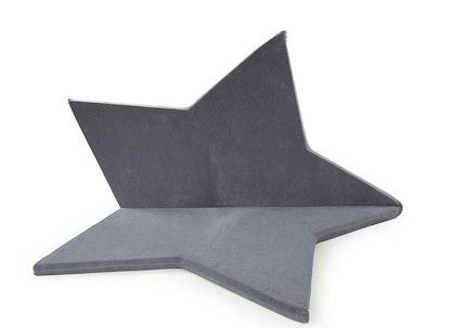 Misioo, Stor och flexibel lekmatta , grå stjärna
