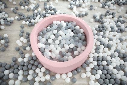 Extra 50 plastbollar till bollhav, Misioo