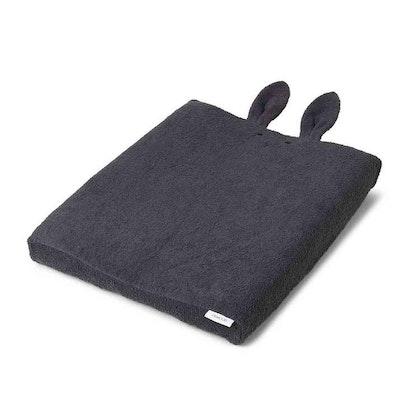 Liewood Egon skötbäddsöverdrag, Rabbit dark grey