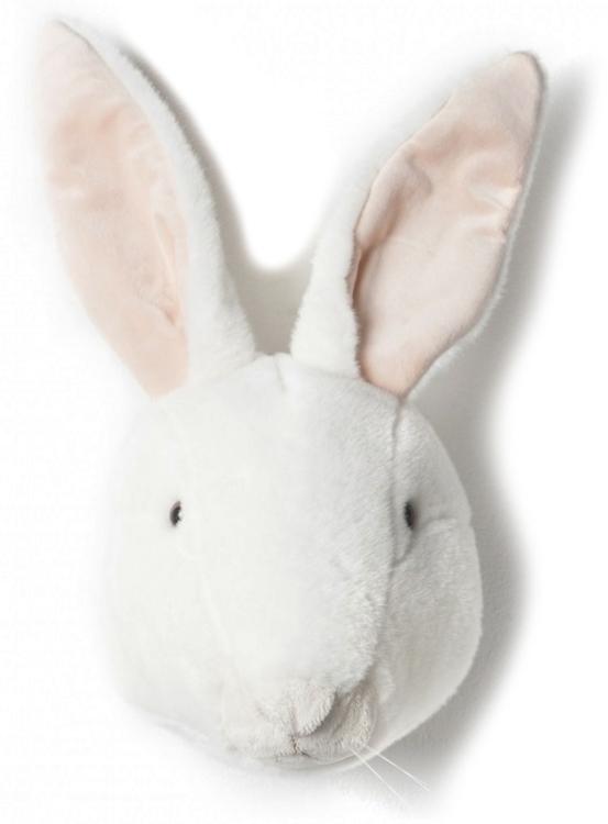 Brigbys kaninhuvud, djurhuvud till barnrummet Brigbys kaninhuvud, djurhuvud till barnrummet