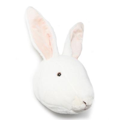 Brigbys kaninhuvud, djurhuvud till barnrummet