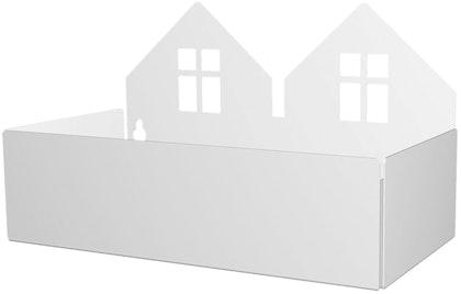 Roommate Förvaringshylla Hus, Vit