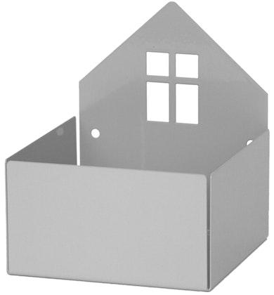 Roommate Vägghylla Hus, Grå