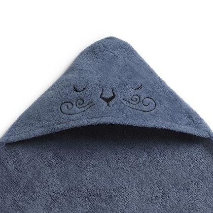Elodie Details, Badcape, Handuk med huva, Tender Blue