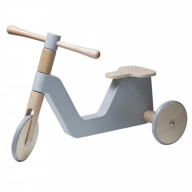 Sebra scooter grå