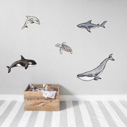 Ocean vänner väggklistermärken, Stickstay