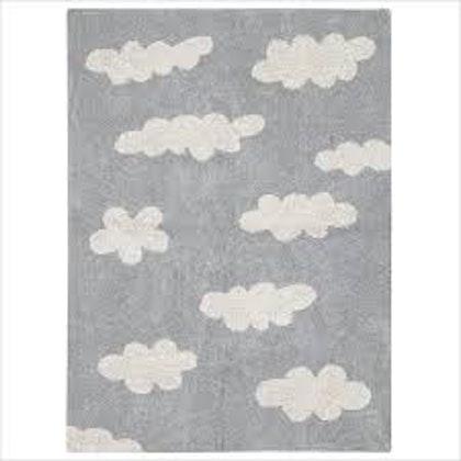 Lorena Canals matta till barnrummet 120 x 160, grå moln