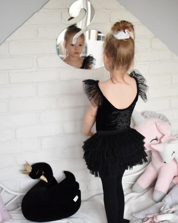 Spegel svan till barnrummet Svan spegel för flickor