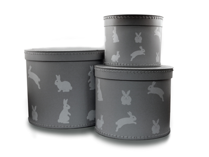 Förvaringsbox 3 pack ,Kaniner