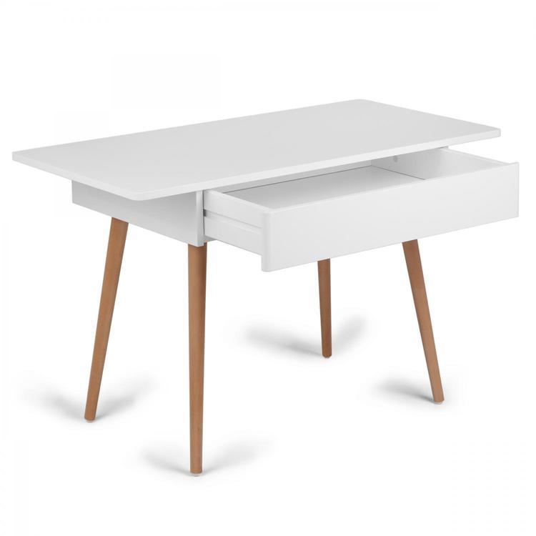 Troll Skrivbord i vit & trä Troll Skrivbord i vit & trä
