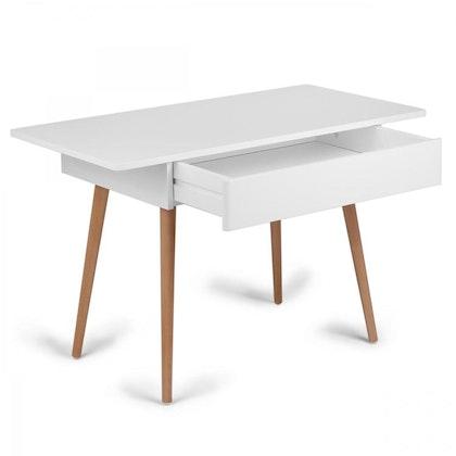 Troll Skrivbord i vit & trä