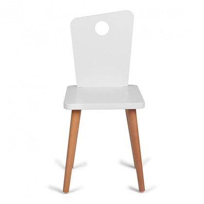 Troll stol för alla barn i vit & trä