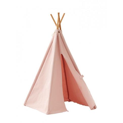 Kid's Concept, Mini Tipitält, Rosa tält för dockor