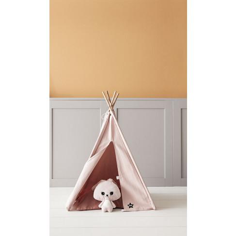 Kid's Concept, Mini Tipitält, Rosa tält för gosedjur
