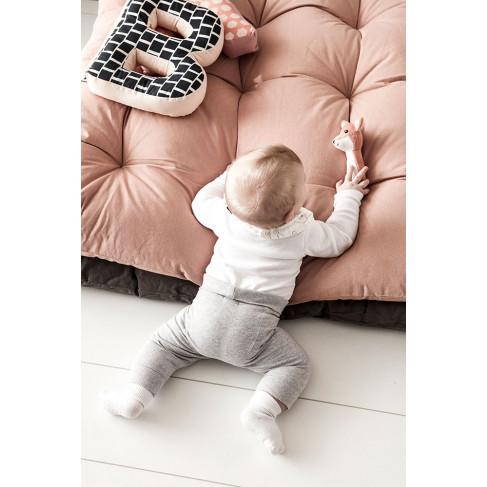 Kids Concept, Golvkudde aprikos Golvkudde för bebis