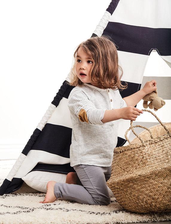 Kids Concept, tipitält svart/vit