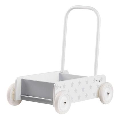 Kid's Concept, Lära gå vagn, star vit/grå