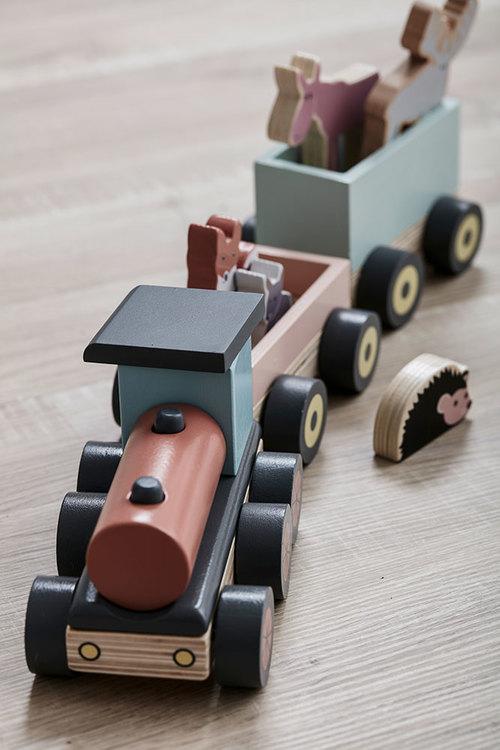 Kids Concept, djurtåg Edvin Kids Concept, djurtåg Edvin