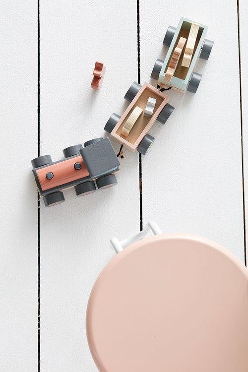Kids Concept, djurtåg Edvin tåg i trä