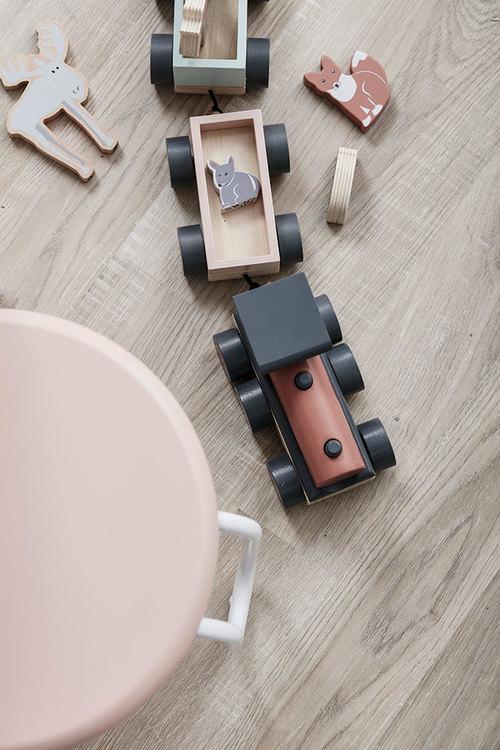 Kids Concept, djurtåg Edvin trätåg