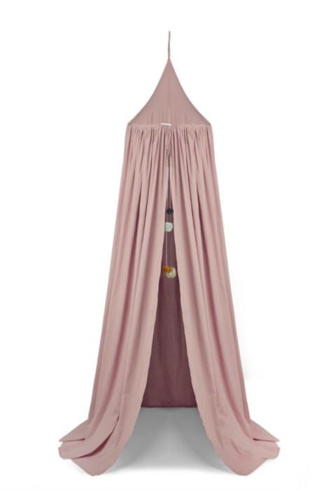 Liewood rosa sänghimmel med ljusslinga