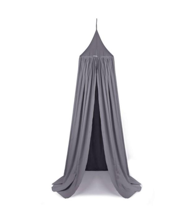 Liewood grå sänghimmel med ljusslinga Liewood sänghimmel grå