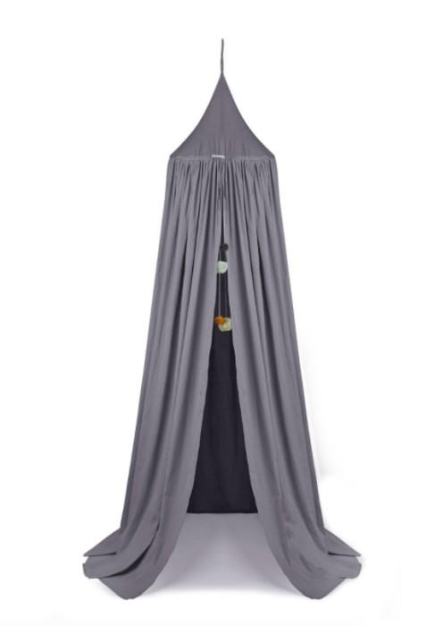 Liewood grå sänghimmel med ljusslinga grå sänghimmel liewood
