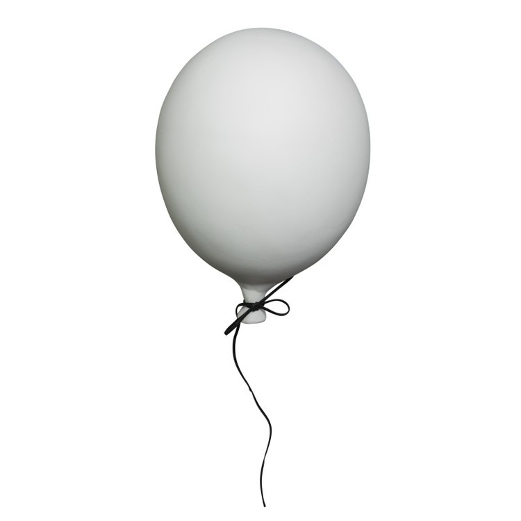 By On, Ballong 22 cm, vit porslin
