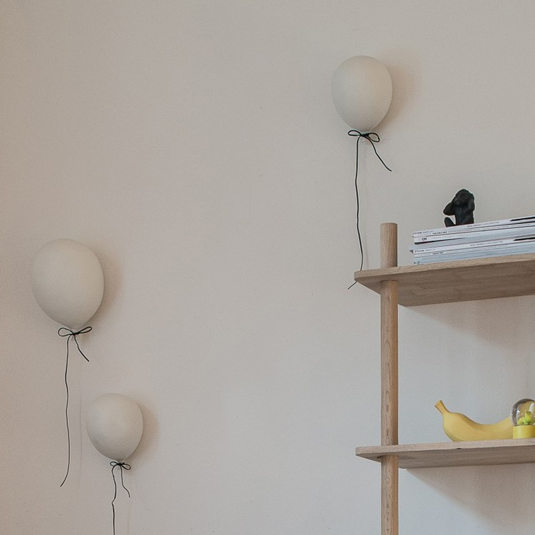 By On, Ballong 22 cm, vit porslin