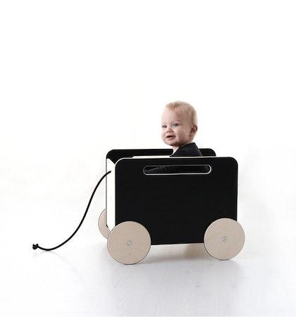Leksaksförvaring på hjul svart , Ooh noo