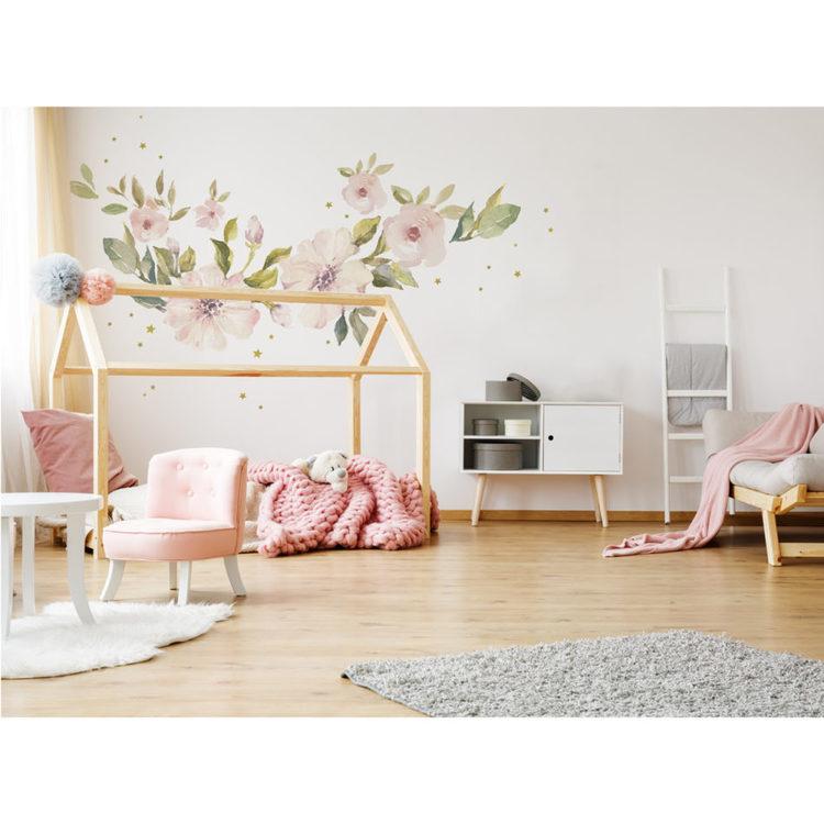 Väggklistermärken till barnrummet magnolias