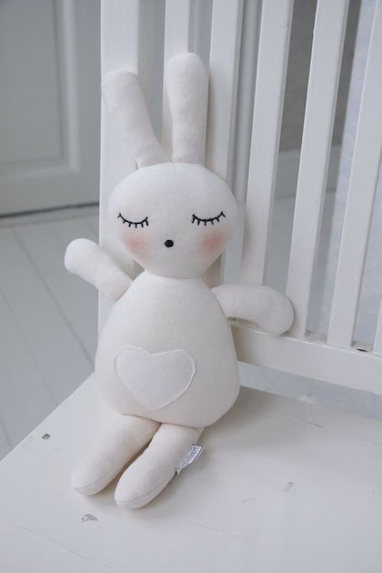 Sleeping Stor Bunny 44 cm , Little Heart