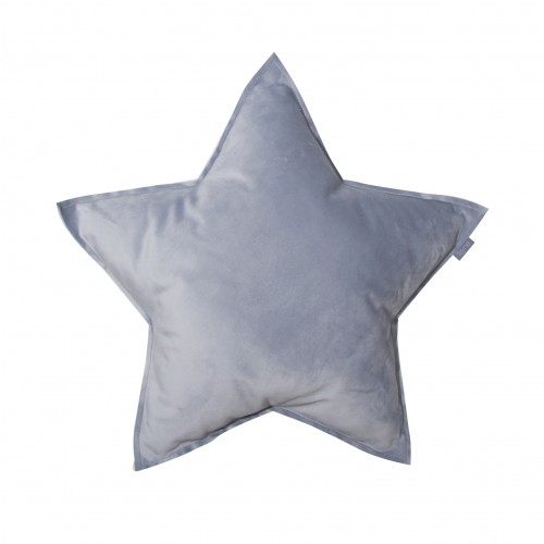 Fayne, sammetskudde grå stjärna Fayne, sammetskudde grå stjärna