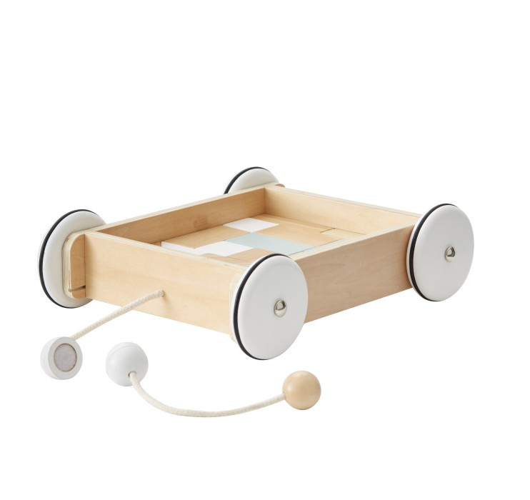 Kids Concept, vagn med klossar