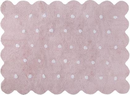 Lorena Canals matta till barnrummet 120 x 160, Galleta rosa